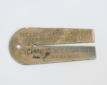 Cyclone Fence Co Wire Gauge Advertising Multi-Tool