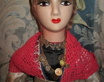 Gypsy Rose Boudoir Doll from1930's