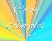 Color Samples - Pick as many colors as you want!