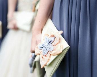 Wedding clutch, wedding bag, bridesmaid clutch, Bridal Clutch, Purse for wedding