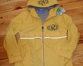 Buttercup Yellow Rain Jacket