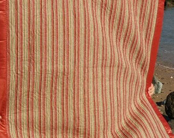 Kiddie Cuddler - Flannel Minky Striped