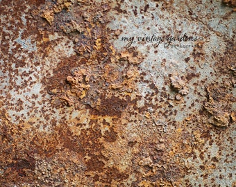 Industrial photography-abstract fine art-rustic-print-industrial art- rusty-rust (8 x 8 Original fine art photography prints) FREE Shipping