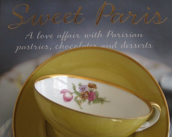 Vintage Sango China Tea Cup Saucer Occupied Japan Gold Rim Tea Party Collectible