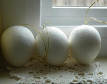 75% off enter LOVE2016.  Vintage Supply, Foam Eggs, Eggs, DIY, Craft Supplies, Easter Egg DIY, Egg Shape Form, Set of 4