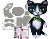 Tuxedo Toots - Printed Fa...
