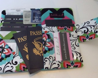 Dollbirdies Family Size Passport Wallet