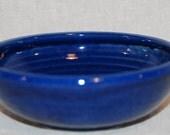 Large Cat Food Bowl - April Blue