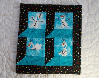 Clearance/Olaf Quilted Wall Hanging