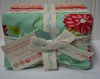 REDUCED Moda SCRUMPTIOUS Fat Eighth Bundle - All fabrics in this collection!