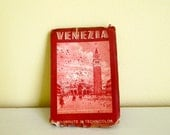 Vintage Photo Card  Book - Italy Travel Venice Venezia - Fold Out Book