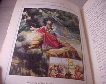 Junior Bible Narratives with 74 Color Lithographs