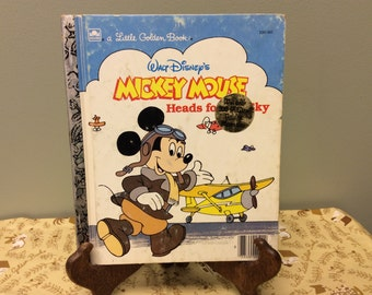 Special Edition Mickey Mouse Little Golden Book