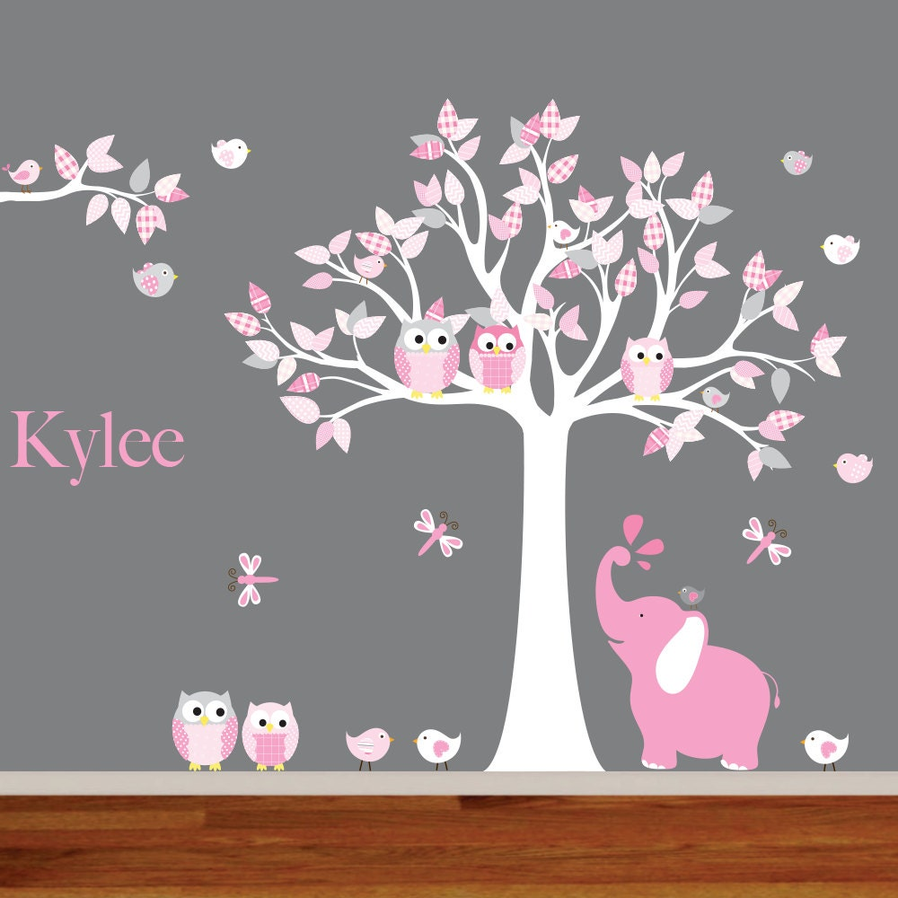 Wall Decals Nursery Nursery Wall Decal Elephant Decal - Nursery wall decals elephant