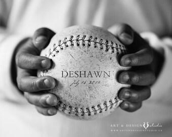 Boys Room Name Art, Sports Decor, Nursery Art, Baseball Prints, Baseball Art, Sports Prints, Baseball Photography, Custom Decor