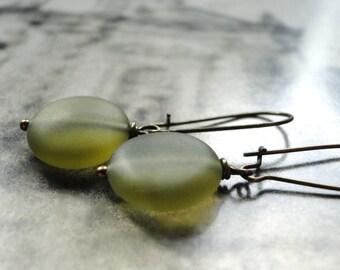 Dangle Earrings, Retro Style, Glass Earrings, Spring Collection, Jewelry, Boho Chic Earrings