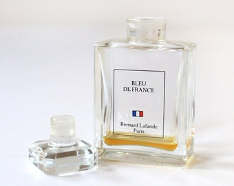 Vintage Bleu De France by Bernard Lalande Perfume Bottle