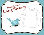 Add on - Make My Shirt Long Sleeve