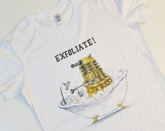 EXFOLIATE Tshirt limited sizes discontinued