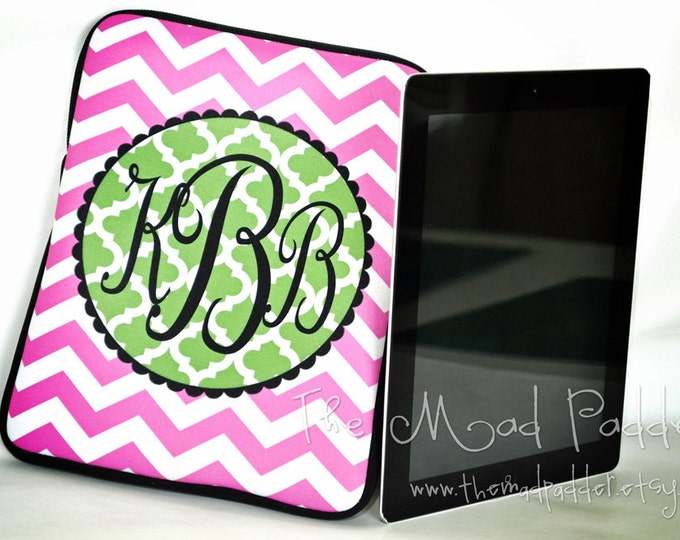 Monogram Tablet or iPad Case - Custom Made
