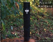OCCULT MASTERY Commanding Candle For Grand Mastery, Clandestine Knowledge Of The Hidden, Ceremonial or High Magick