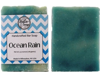Ocean Rain Bar Soap - Vegan