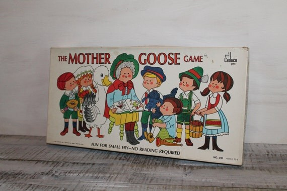 Y Goose Game 1971 Cadaco The Mother...