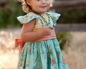 INSTANT DOWNLOAD- Melody Dress (Sizes 3 mos to Size 6) PDF Sewing Pattern and Tutorial
