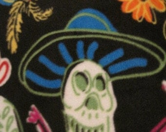 Day of the Dead Blanket - Ready to Ship Now