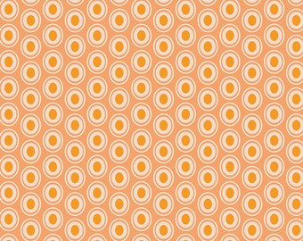 1 yard of Peaches n Cream OE-924 from Art Gallery Fabrics.