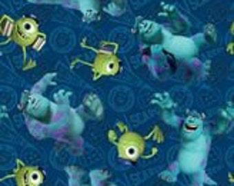 Monster Inc Bean Bag Cover, Blue, Turquoise, Green, Mike Wazowski, James P Sullivan, Monsters, Monster,  Etsy Kids, Gift Under 75