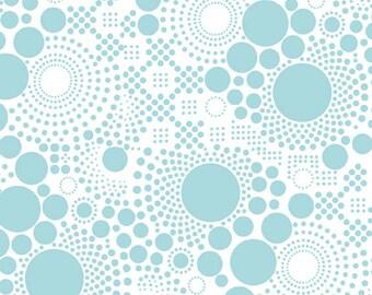 Basics Pop Aqua by RBD Designers for Riley Blake, 1/2 yard