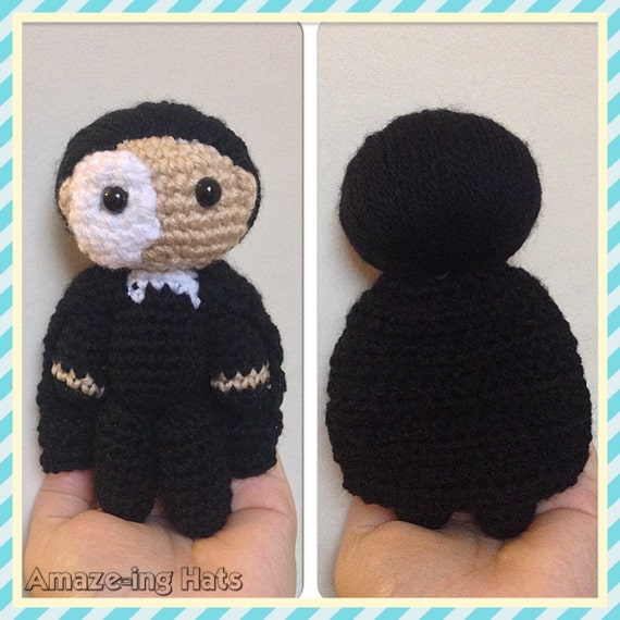 Amaze-ing Phantom of the Opera-Inspired Doll - Made to Order