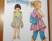 Simplicity Daisy Kingdom 2716 Hankerchief Dress Pants and Backpack sewing pattern 3 4 5 6 7 8
