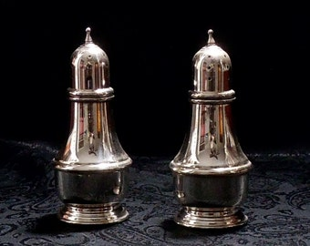 Sterling Silver Salt and Pepper Shakers - Lenox Silver, Inc