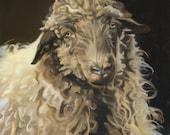 """Sheep painting """"Marley"""""""