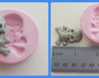 Skull Mold Silicone Cabochon Mold Resin Wax Soap Mold