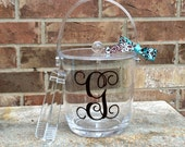 Personalized Acrylic Ice Bucket with Lid