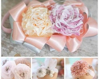 Baby Headband Tutorials - Baby Headband - Flower Tutorials