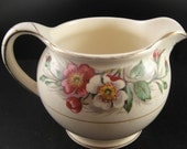 Creamer John Maddock & Sons Wild Rose Pattern Made in England