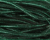 8mm Antique Emerald Green Foil  RE3004H3, Flexible Tubing, Poly Mesh Supplies (10 Yards)