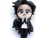 Edgar Allan Poe - Miniature Sculpture - Charm Figurine