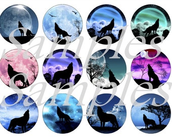 Wolf Magnets Pins,  Wolf Silhouette Pins, Wolf Silhouette Magnets, Wolf Pin Gift Sets, Magnet Gift Sets, Fridge Magnets, Party Favors