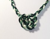 Handfasting Cord with Celtic Heart Knot - Your Choice of Colors - Tie the Knot - Celtic Wedding Accessory - 100% Handmade in USA