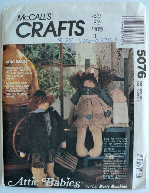 Vintage Attic Babies Doll And Clothes By Docksidedesignsetc