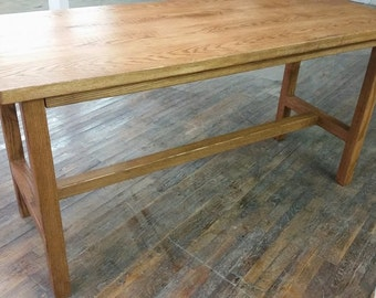 Reclaimed Wood Counter Height Table READY TO SHIP