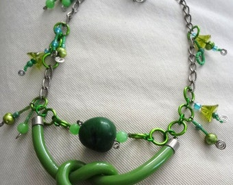 Green For Jade  everything is a found object