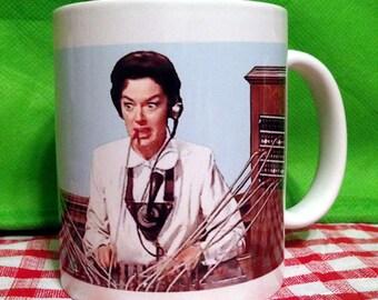 Auntie Mame Switchboard Operator Mug