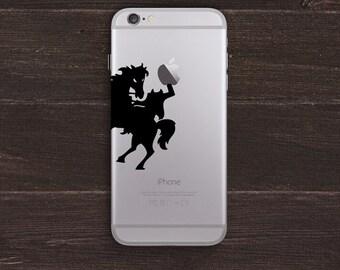 Headless Horseman Vinyl iPhone Decal BAS-0163
