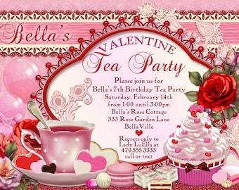 Valentines_tea_party | Etsy